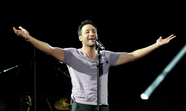 Luciano Pereyra se presentó  en el Antel arena de Montevideo con entradas agotadas.